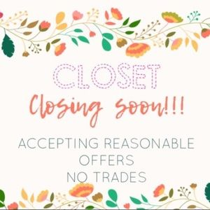 Dresses & Skirts - Closest Closing Sale